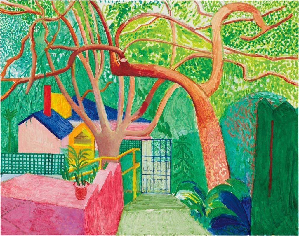 David Hockney - The Gate