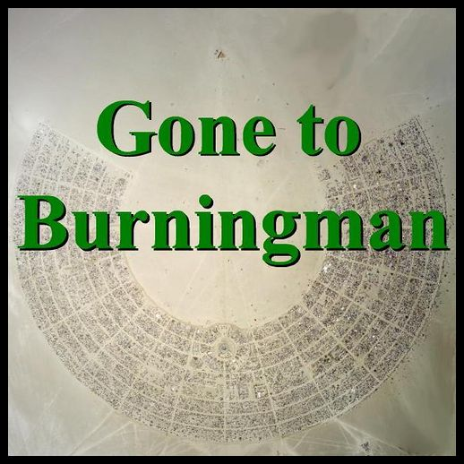 gone to burning man